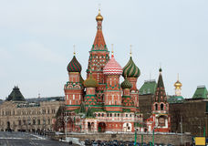 St.Basil's Cathedral Royalty Free Stock Images