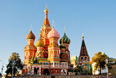 St. Basil's Cathedral. St. Basil Cathedral, Red Square, Moscow Royalty Free Stock Photos
