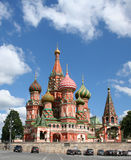 St Basil's Cathedral. St Basil's Cathedral on the Red square, Moscow, Russian Federation Royalty Free Stock Images