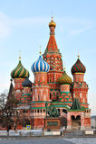 St. Basil's Cathedral. In Moscow Stock Photo