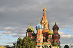 St. Basil's Cathedral Stock Photo