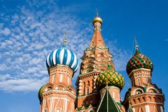 St Basil's Cathedral Royalty Free Stock Image
