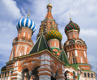 St Basil's Cathedral Stock Image