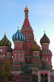 St. Basil's Cathedral at autumn. Moscow, Russia Stock Images
