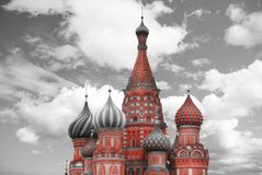 St. Basil`s Cathedral Stock Photography
