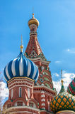 St Basil's Cathedral close up Royalty Free Stock Image