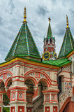 St Basil's Cathedral Detail Stock Image