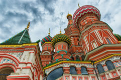 St Basil's Cathedral Detail Stock Photography