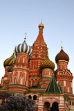 St. Basil's Cathedral. Famous Moscow's Cathedral on Red Square Stock Photo