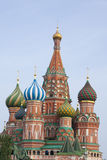 Moscow. Red square. St. Basil's Cathedral. The Cathedral of the Holy virgin, on the Moat red square Moscow Russia Stock Photos