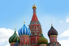 St. Basil`s Cathedral kremlin  church Stock Photos