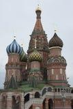 St. Basil's Cathedral Kremlin Stock Photography