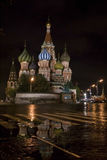 St. Basil's Cathedral in Moscow Stock Image