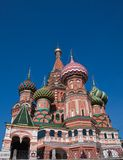 St. Basil's Cathedral. Moscow Royalty Free Stock Image