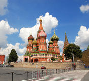 St.Basil's Cathedral in Moscow Stock Photography