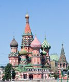 St. Basil's Cathedral. Moscow Royalty Free Stock Photography