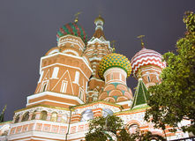 St. Basil's Cathedral in Moscow Royalty Free Stock Images