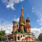 St Basil`s Cathedral, Moscow stock image