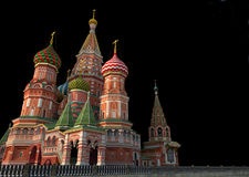 St Basil's Cathedral, Moscow, illustration, Stock Image
