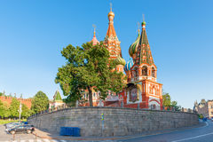 St. Basils Cathedral in Moscow Stock Photography