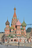 St. Basil's Cathedral in Moscow. Royalty Free Stock Image
