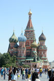 St  Basil s Cathedral  Moscow  Red Square  Heat Stock Photo
