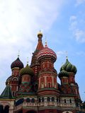 St. Basil`s Cathedral in Moscow. Russia. St. Basil`s Cathedral in Moscow Royalty Free Stock Photos
