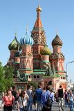St. Basil's Cathedral, Moscow, Russia Royalty Free Stock Image