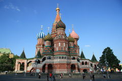 St. Basil's Cathedral, Moscow, Russia Stock Photos
