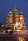 St. Basil's Cathedral in Moscow, Russia Stock Image