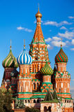 St. Basil's Cathedral in Moscow, Russia Royalty Free Stock Images
