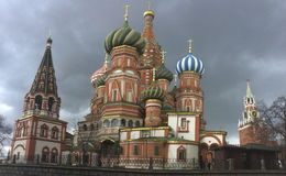St.Basil`s Cathedral, Moscow Stock Image