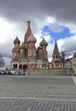 St.Basil`s Cathedral, Moscow Royalty Free Stock Photo