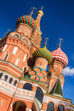 St. Basil's Cathedral in Moscow on a sunny day Royalty Free Stock Photos