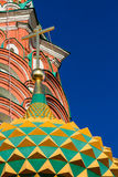 St. Basil's Cathedral in Moscow on a sunny day Stock Photo