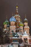 St. Basil S Cathedral On Red Square, Moscow Stock Photography
