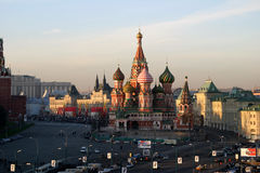 St. Basil's Cathedral (Pokrovsky Cathedral) Royalty Free Stock Photography