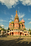 St. Basil`s Cathedral. Stock Photo