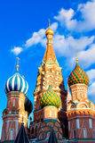 St. Basil's Cathedral on Red square Royalty Free Stock Photography