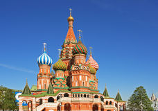 St. Basil's Cathedral at the Red Square Royalty Free Stock Image