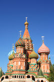 St. Basil's Cathedral at the Red Square Stock Photo