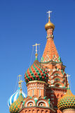 St. Basil's Cathedral at the Red Square Royalty Free Stock Images