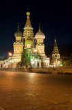 St Basil's Cathedral in Red Square Stock Photos