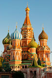St. Basil's Cathedral, Red Square. Moscow Stock Photos