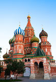 St Basil's Cathedral in Red Square Stock Image