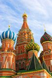 St. Basil's Cathedral on Red square Stock Image