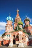 St. Basil's Cathedral on Red square Royalty Free Stock Image