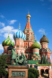 St. Basil's Cathedral on Red square Royalty Free Stock Photo