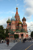 St Basil's cathedral in Red Square Stock Images