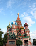 St Basil's cathedral in Red Square, detail Royalty Free Stock Image